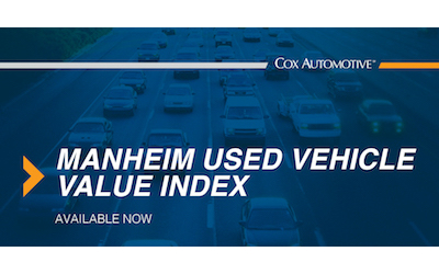 Used-Vehicle Values Set New Record for Third Straight Month