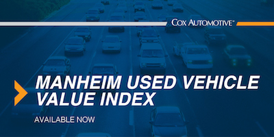 Manheim Index Shows Used Vehicle Values Remain Steady in